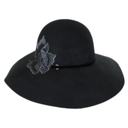 Love this hat by Callanan because the embroidered flower is beautiful  available at  VillageHatShop d136ed038674
