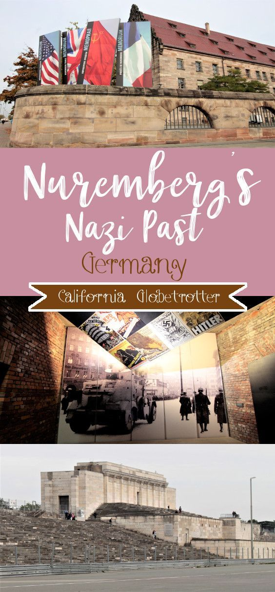 Discovering Nuremberg's Nazi Past - Nazi Party Rally Grounds - Documentations Center - Reichsparteigelande - Exploring the Nuremberg Nazi Rally Grounds - The Rise & Fall of the Third Reich - Nuremberg, Bavaria, Germany - California Globetrotter