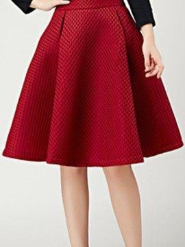 ed4d1afb6 Falda Plisada De Color Vino | Skirt | Faldas, Faldas plisadas y ...