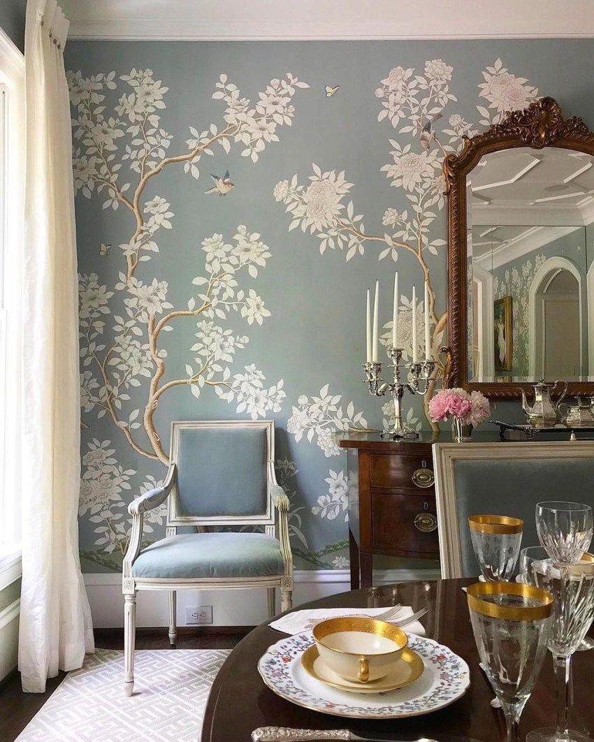 46 Formal Dining Room Decor Ideas Dining room wallpaper