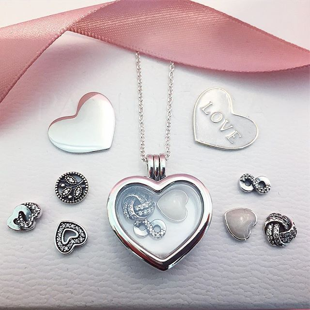 d1e94b5a2 Store your memories together inside the new Heart Shaped PANDORA floating  heart locket pendants. #PANDORA #PANDORACharm #PANDORABracelet  #PANDORAJewellery ...