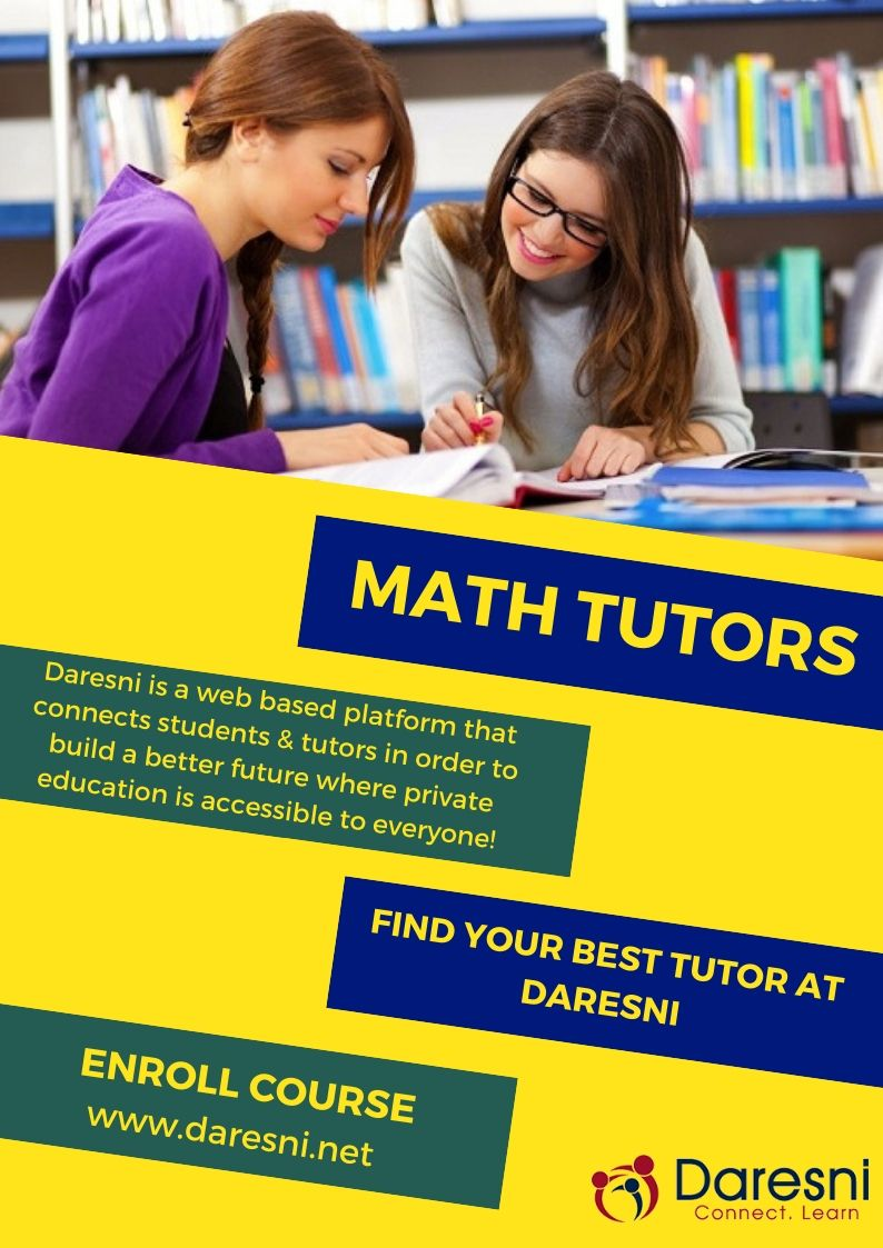 If You Want To Learn Maths From Professional And Experienced Tutors Then Math Tutors Near Me Are The Best Tutors For You Math Tutor Tutor Online Tutoring