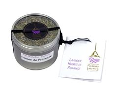 Lavender Herbes de Provence -  Pelindaba's unique Lavender Herbes de Provence blend of culinary herbs is a new variation on a time-honored culinary theme.  Traditionally used for rubbing beef, lamb, chicken and duck, it also makes an ideal seafood and fish marinade, and a thrilling addition to fresh salads. Blended with cream cheese and garlic, it produces a wonderful hors d'oeuvre.  4oz (vol)