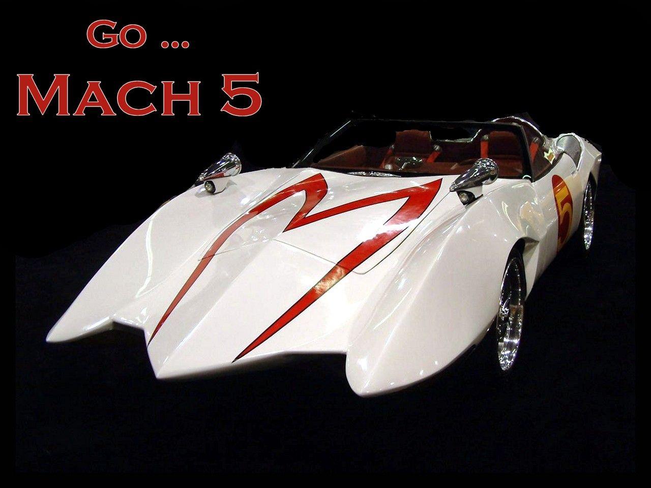 Racer x mach 5 mach 5 speed racer car by puddlz on deviantart