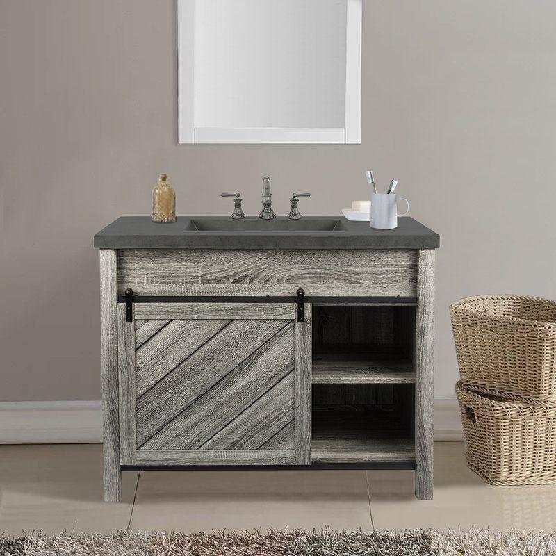 Philomena 42 Single Bathroom Vanity Set Single Bathroom Vanity