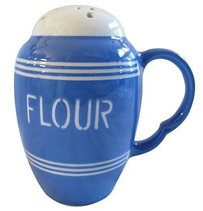 Stunning Bretby Flour Shaker