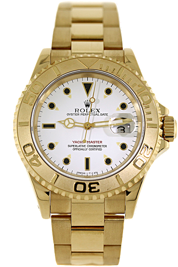 Rolex 18K Yellow Gold Yachtmaster Automatic 1994 Must have