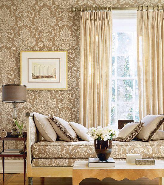 Eclectic Revisited By Maureen Bower Best Living Room Wallpaper Room Wallpaper Designs Elegant Living Room