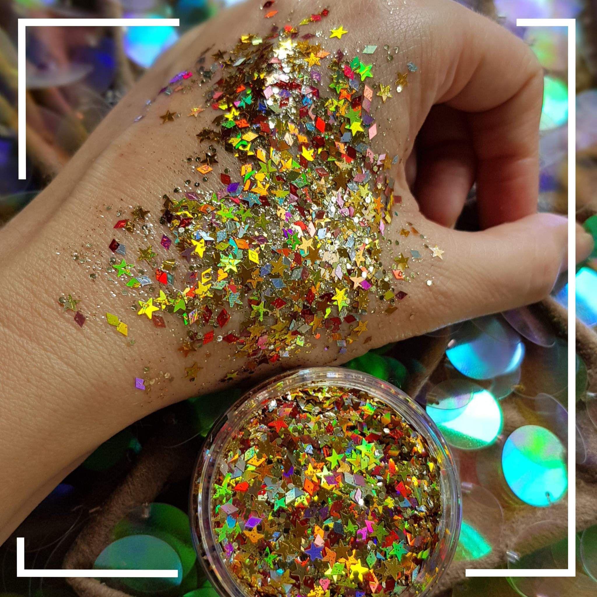 Sunny Day Chunky Glitter Starlight Glitter Face Glitter Makeup Glitter