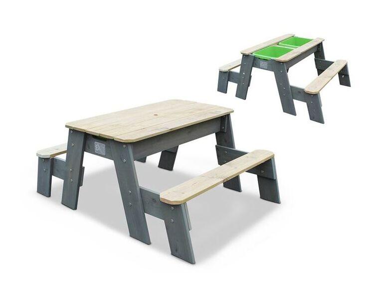 Mesa De Juego Multiuso Arena Y Agua Lidl Picknicktisch Wassertisch Gedeckter Tisch
