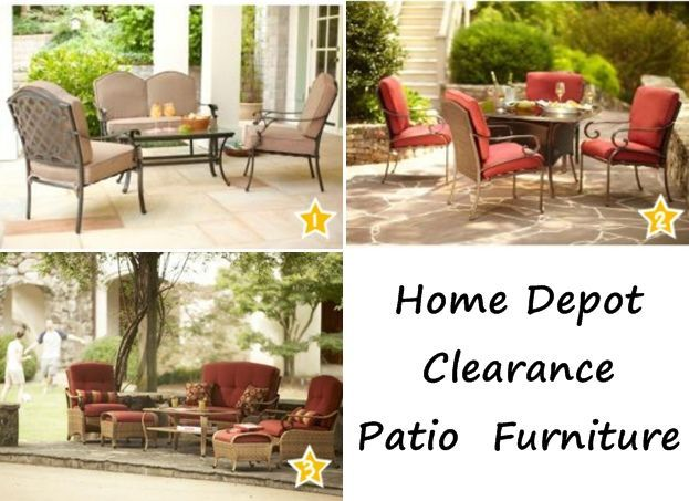 home depot clearance patio furniture furniture ideas pinterest rh pinterest com patio furniture conversation sets home depot outdoor furniture sets home depot