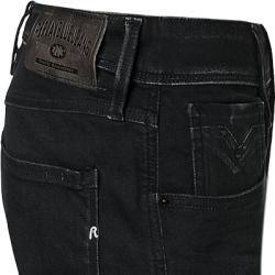 Replay Jeans-Shorts Herren, Baumwoll-Stretch, schwarz ReplayReplay