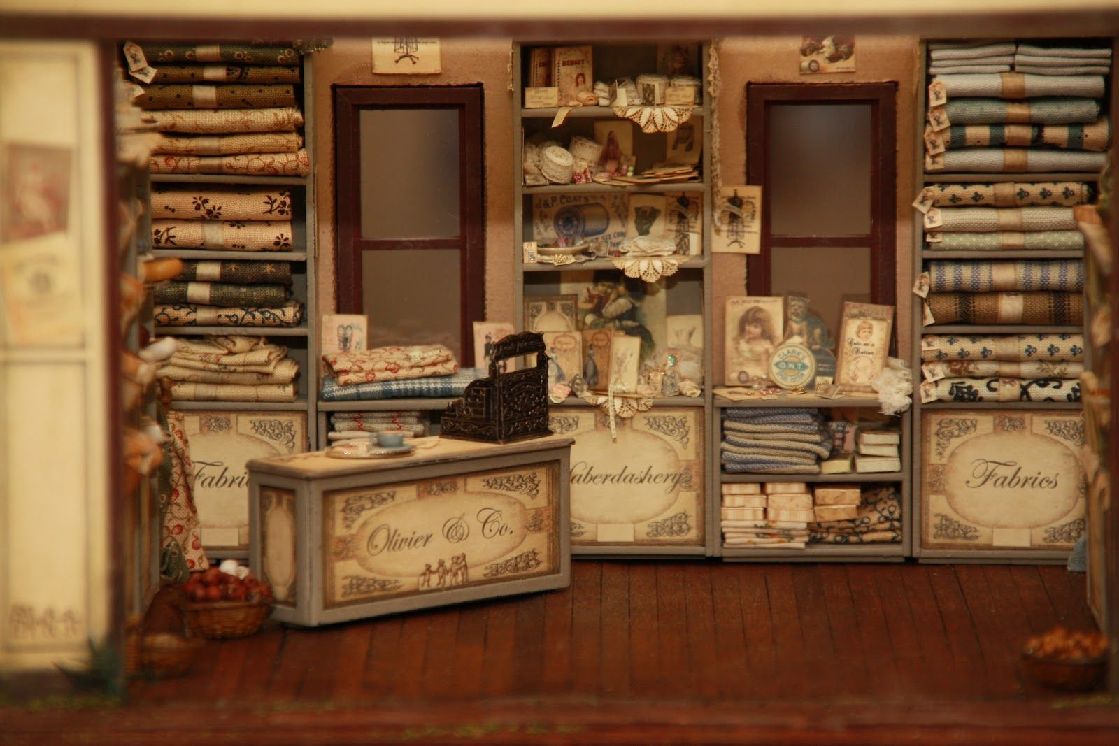 miniatures of antique This shop was a real challenge for