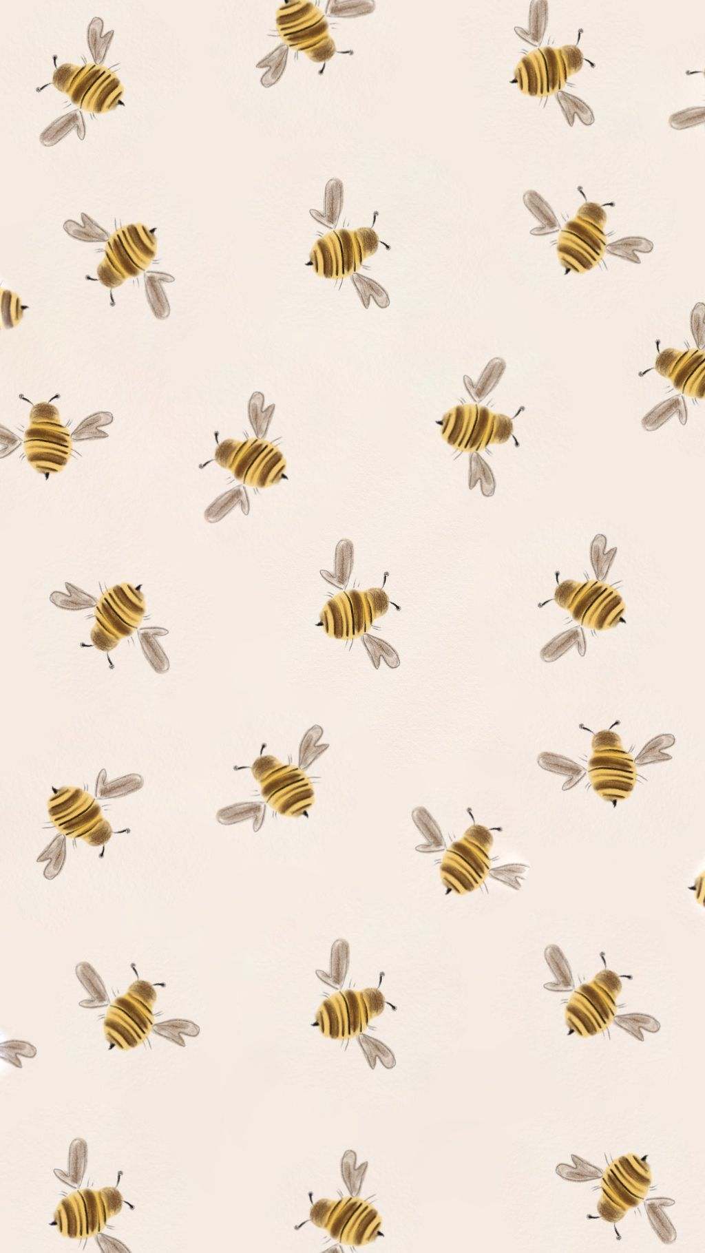 Bee Wallpaper Pastel Iphone Wallpaper Cute Patterns Wallpaper Iphone Wallpaper Tumblr Aesthetic
