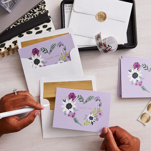 what to write in a bridal shower thankyou note