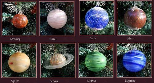 planet christmas ornaments diy - Google Search