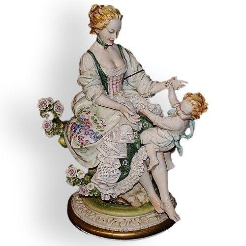 Фарфор Италия.Мать и дитя.