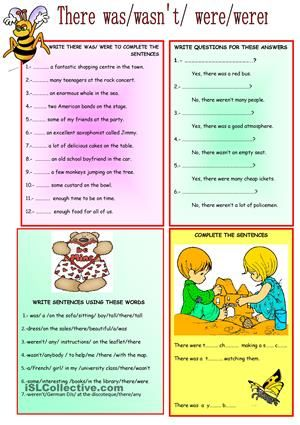 there was were worksheet free esl printable worksheets made by teachers teaching learn. Black Bedroom Furniture Sets. Home Design Ideas