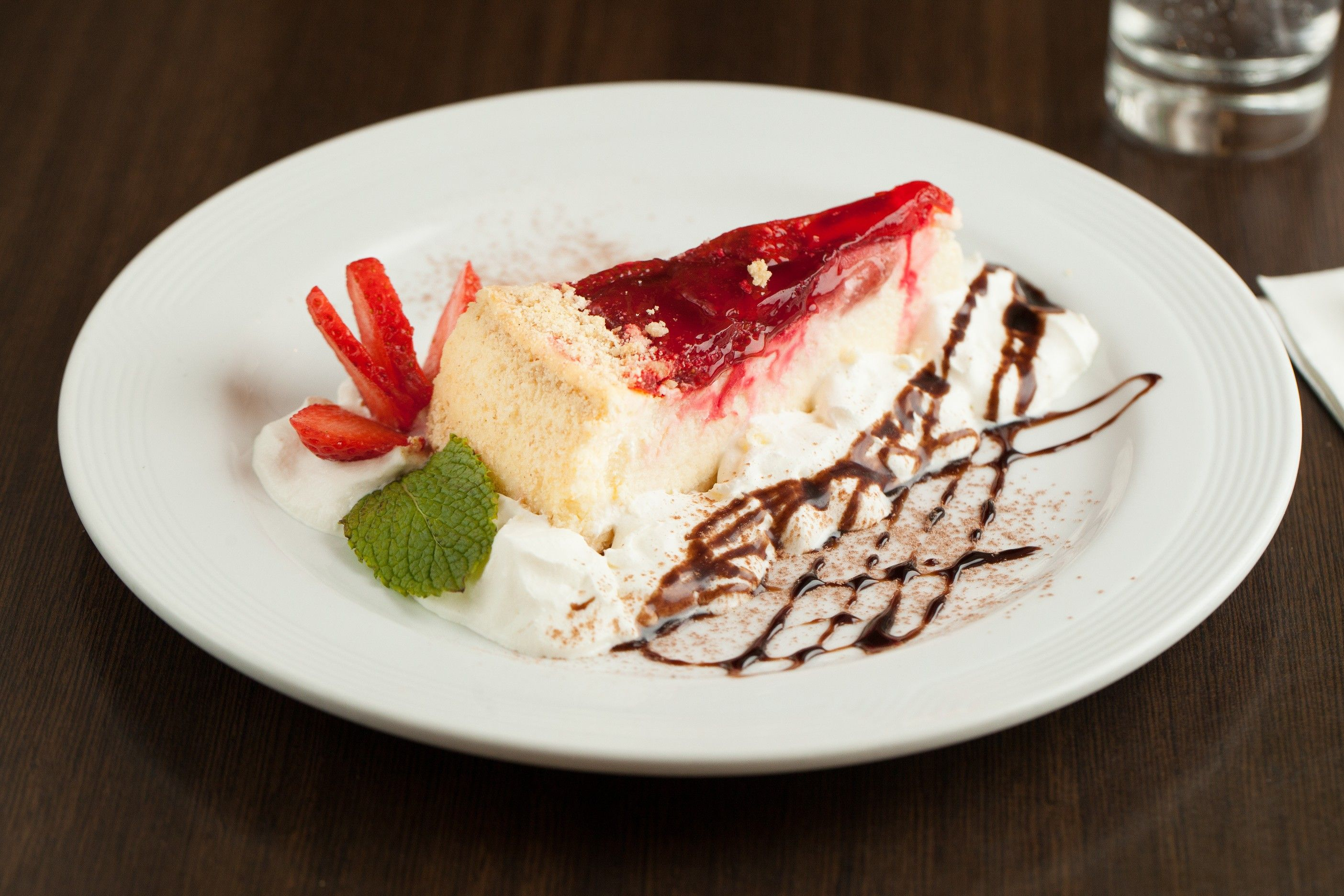 Dolci - Strawberry Cheesecake