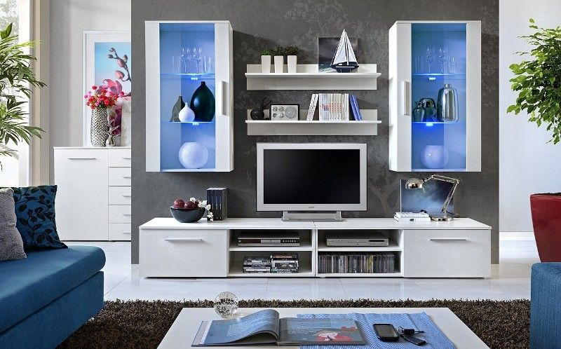 Oregon 2 Modern wall units, Living room wall units and Modern wall