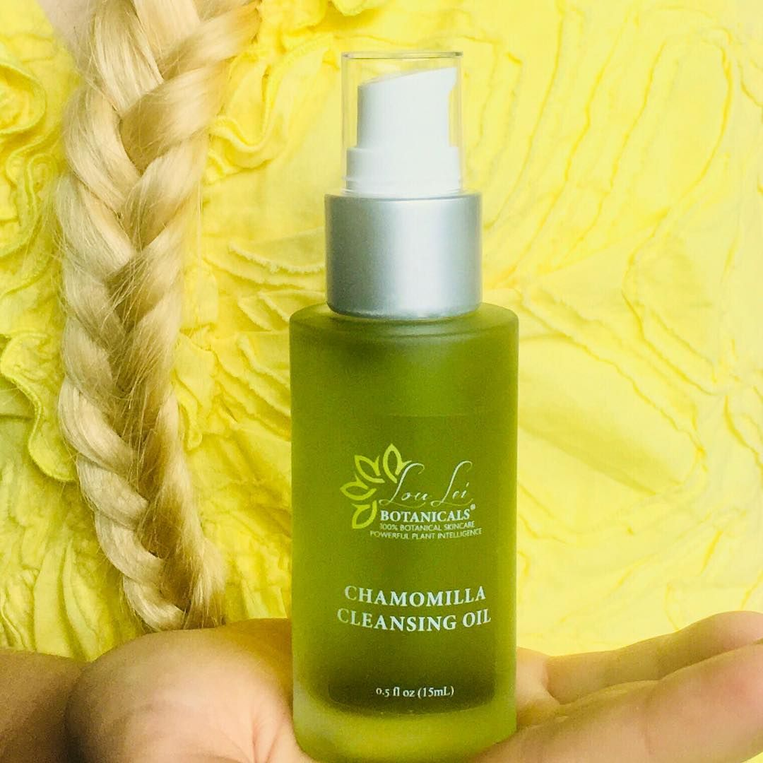 Lou Lei Botanicals Chamomile Cleansing Oil a gentle