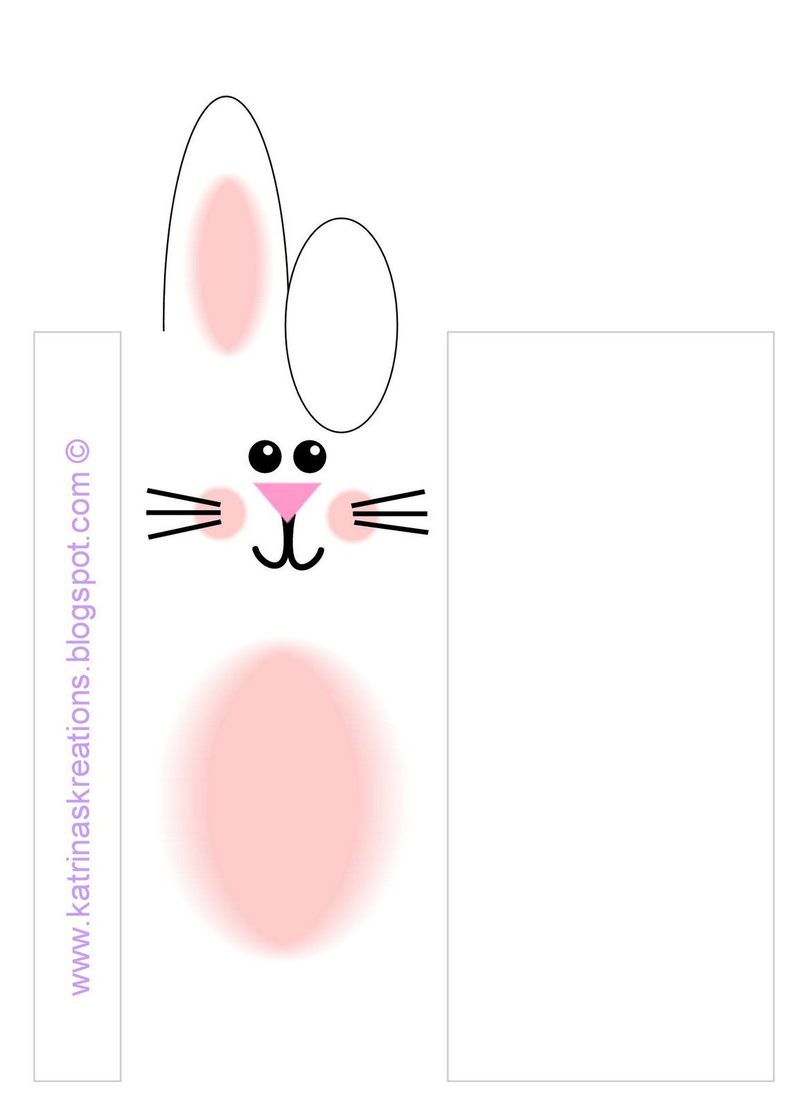 Katrina\'s Kreations: Easter Bunny Wrappers | Easter | Pinterest