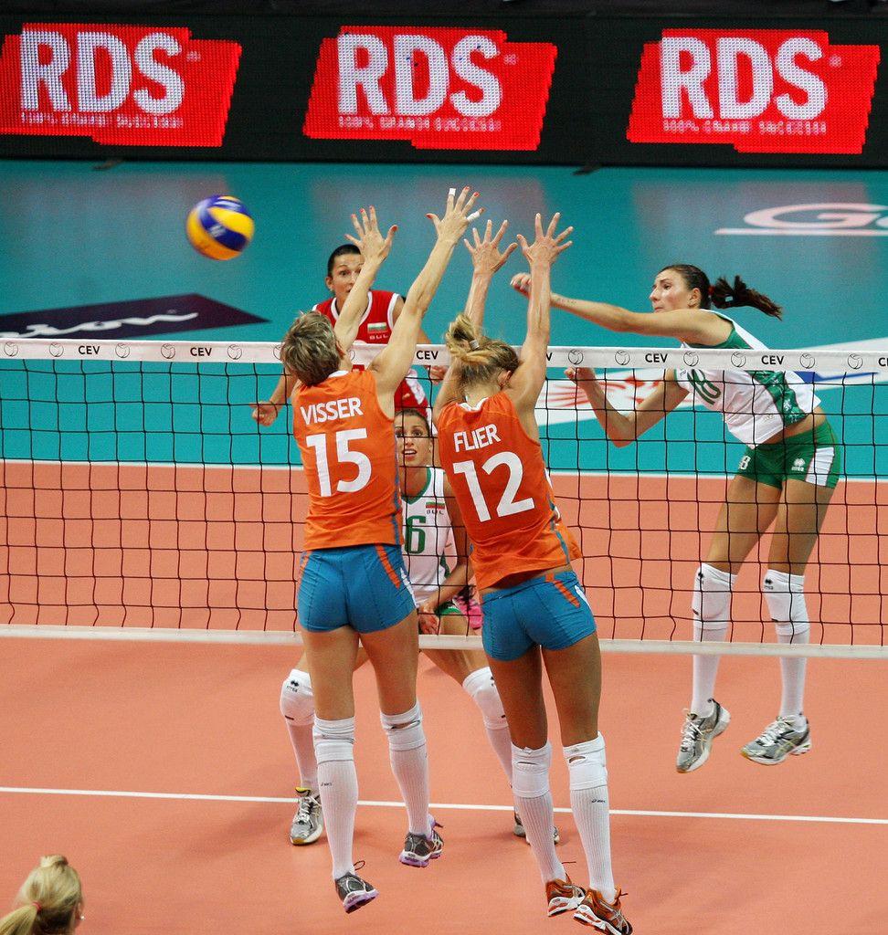 Women Volleyball European Championship: Manon Flier Photos Photos: Women Volleyball European
