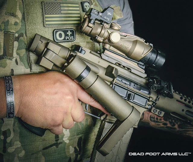 When it comes to AR folding stocks, there is only one system that