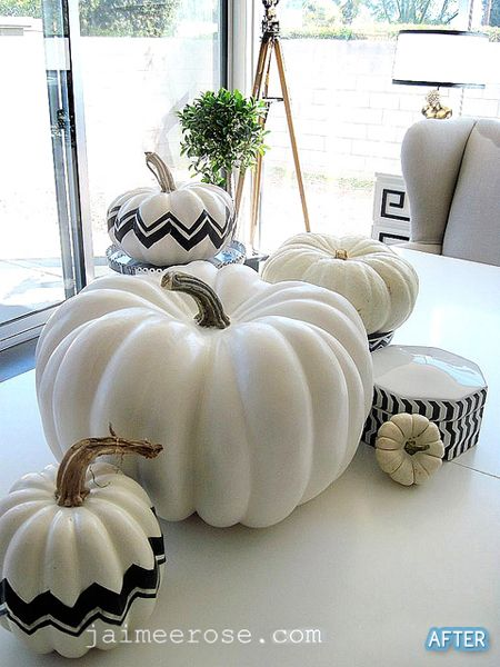 How to make fake pumpkins look real (it's all about the stem!)