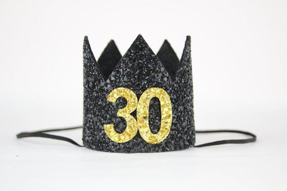 Flirty Thirty Crown