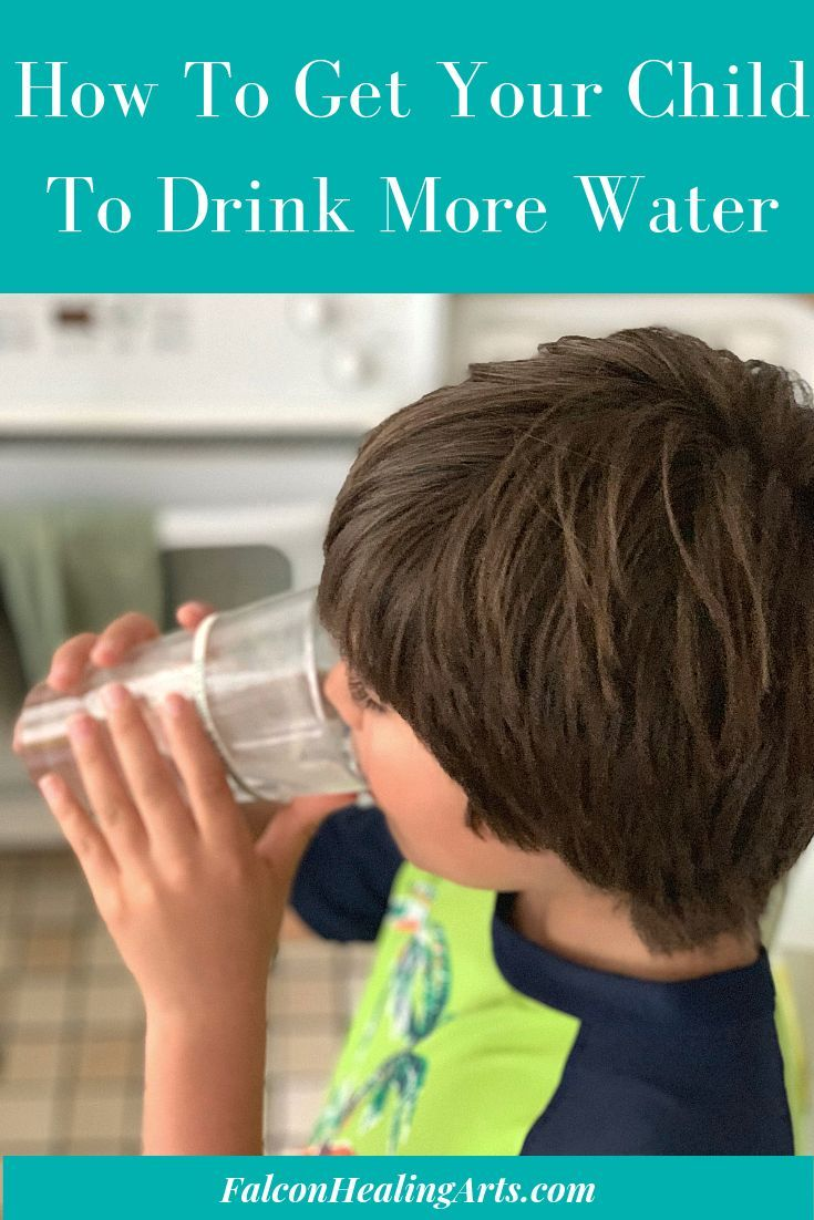 Do you have a hard time getting your child to drink water