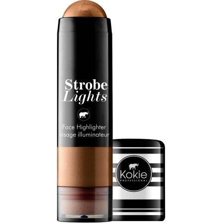 Strobe Light Walmart Prepossessing Kokie Professional Strobe Lights Face Highlighter Bronze