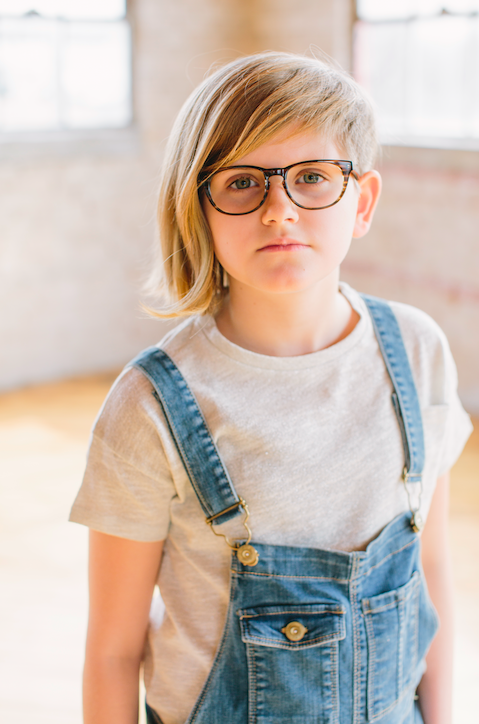 874c5d20709 Girls Eyeglass Frames    Ruth Frame Striped Maple    Our Ruth round children s  glasses frames are offered in several beautiful colors.