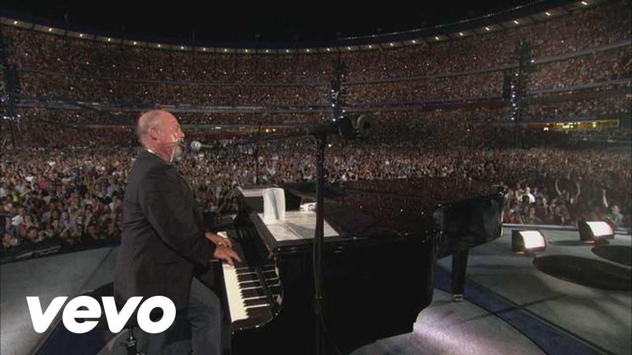 Billy Joel Piano Man Live At Shea Stadium Billy Joel Piano Man Shea Stadium