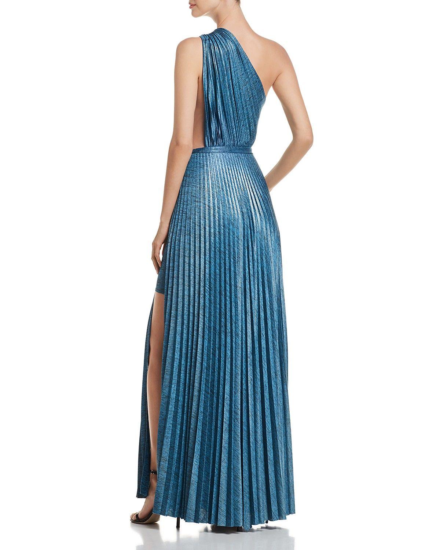 Elie Tahari Mistry Pleated One Shoulder Maxi Dress Women Bloomingdale S Shoulder Maxi Dress Womens Maxi Dresses Maxi Dress [ 1500 x 1200 Pixel ]