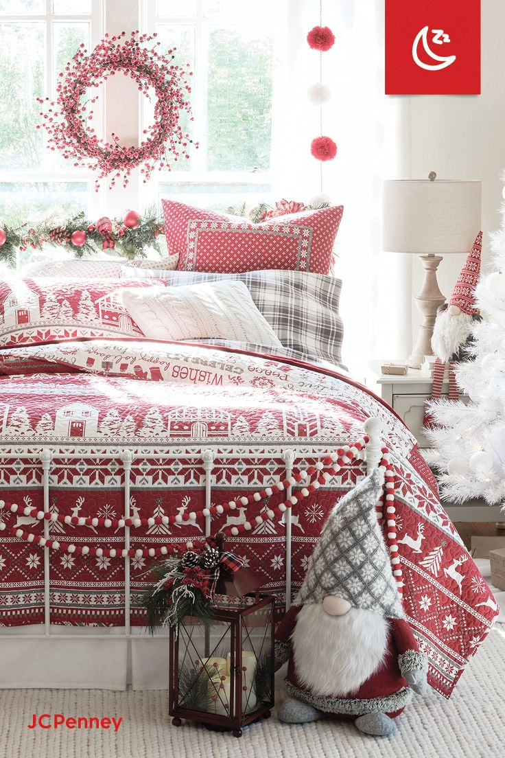Cozy Night Done Right Christmas Decorations Bedroom Christmas Decorations Diy Outdoor White Christmas Decor A cozy christmas bedroom