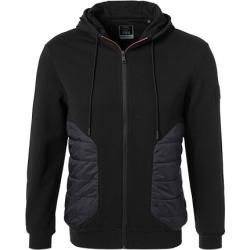 Photo of Hackett Sweatjacket Herren, Baumwolle, schwarz Hackett