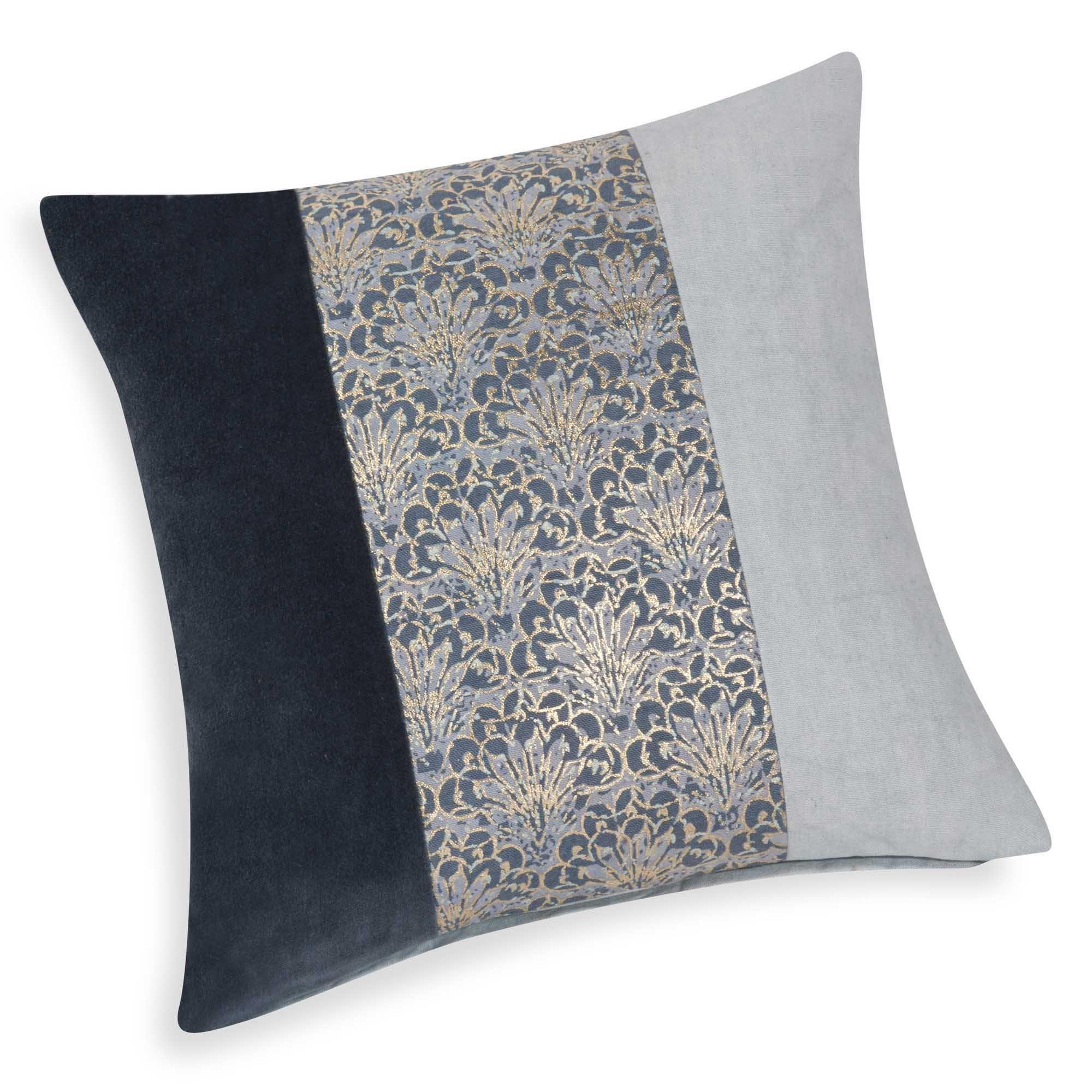 Baker bluegold cotton cushion cover x cm home pinterest