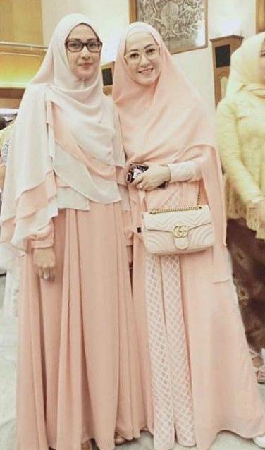50+ Model Baju Gamis Syar'i Lyra Virna Terbaru dan ...