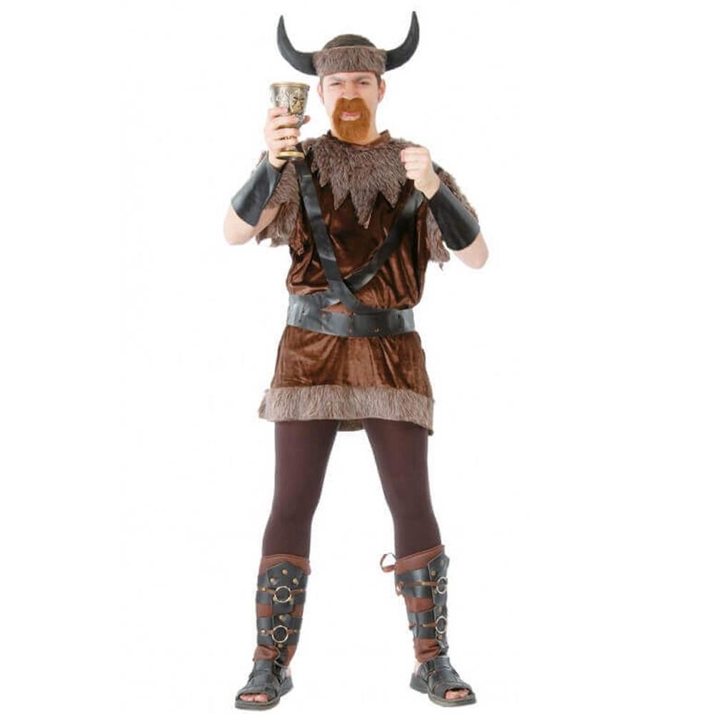 Deluxe vikings Cape marron Nouveau-Accessoires Accessoire Carnaval