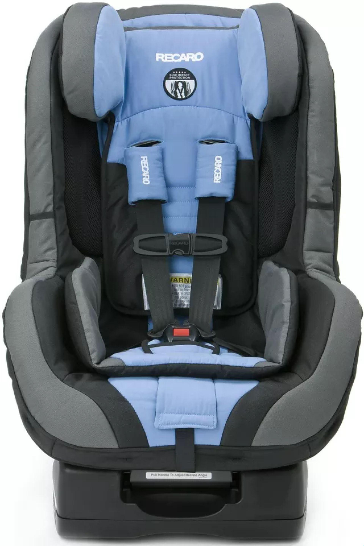 Recaro Proride Convertible Car Seat Blue Opal 332 01 Ak21 Unisex Rear Forward Recaro Car Seat Car Seats Front Facing Car Seat