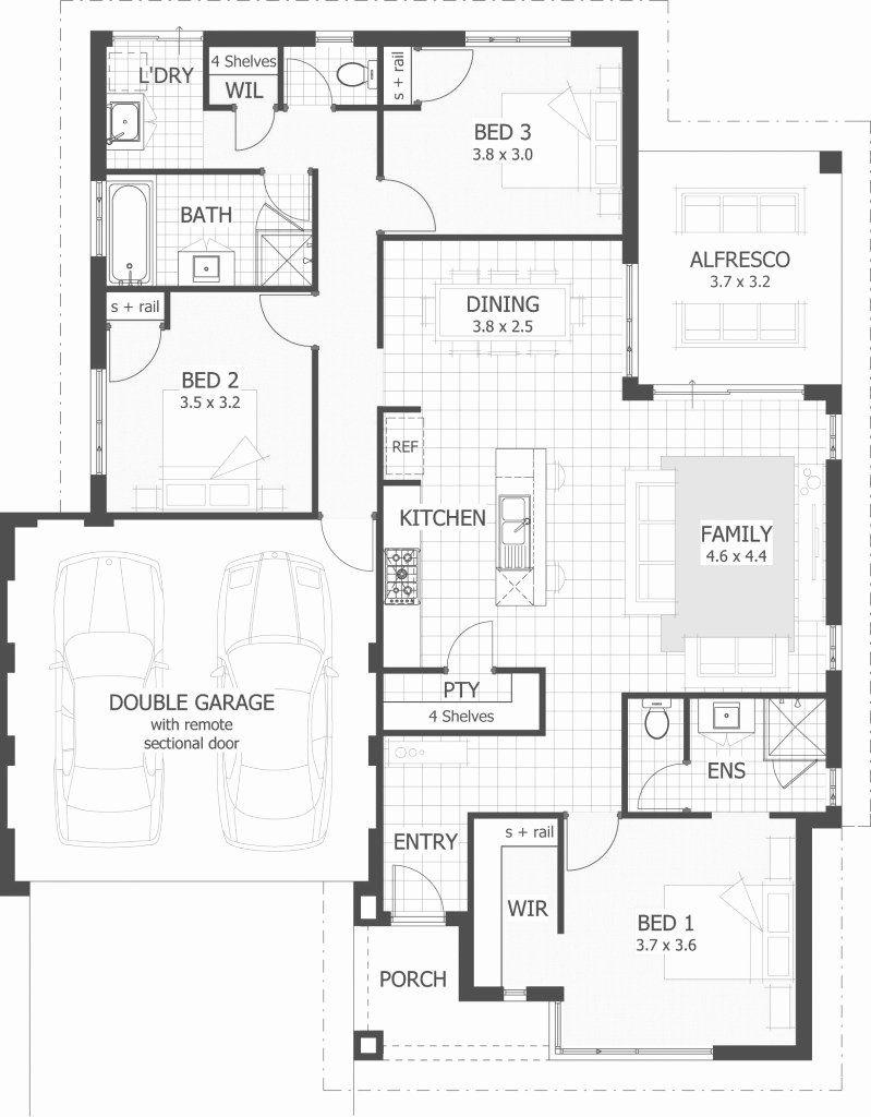 5 Bdrm House Plans Fresh Modern 5 Bedroom House Plans Single Story Home Design Ideas Bedroom House Plans House Plans South Africa Three Bedroom House Plan