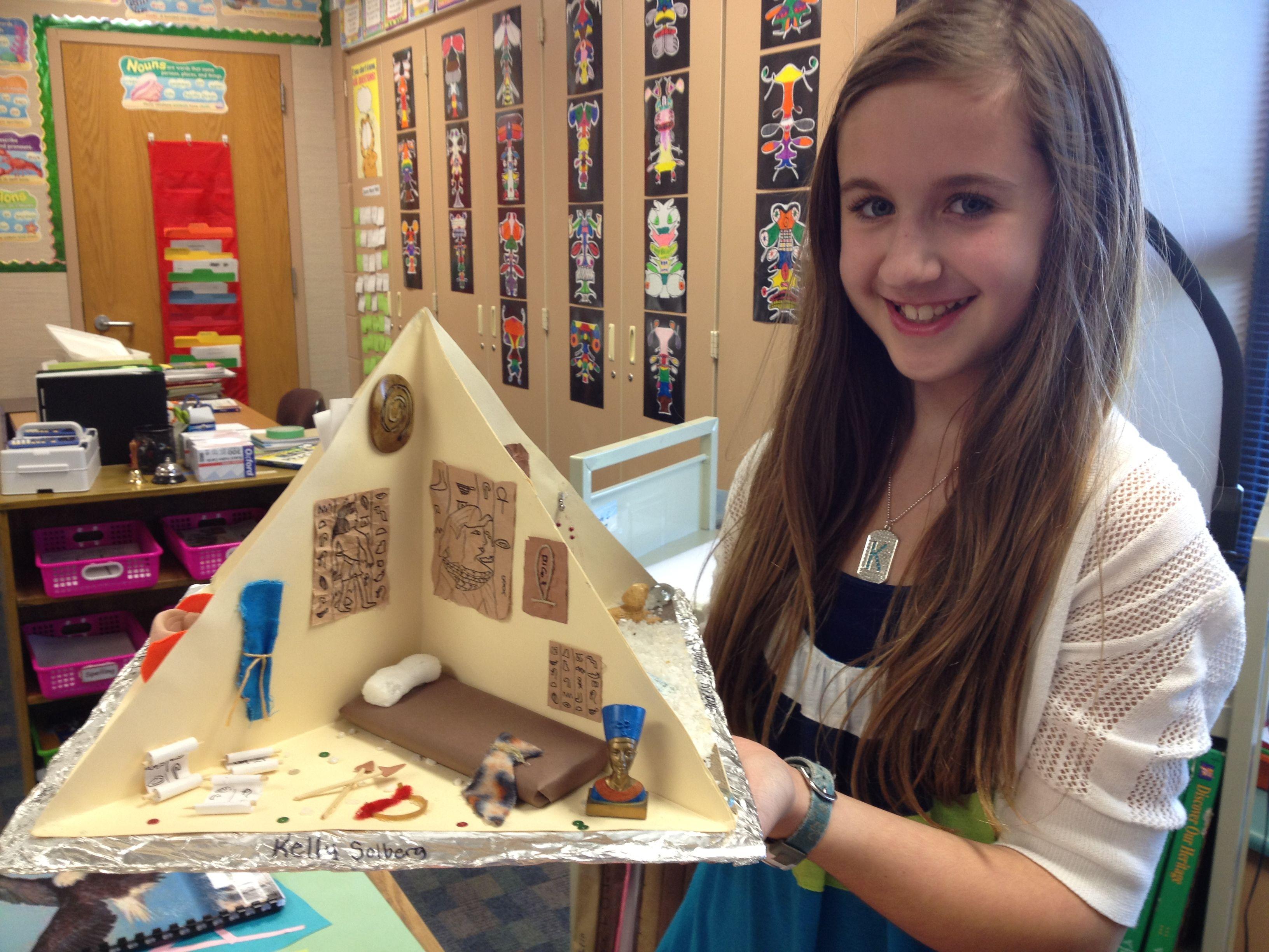 Egypt Pyramid Project 6th Grade Pyramid Project Ideas Ancient