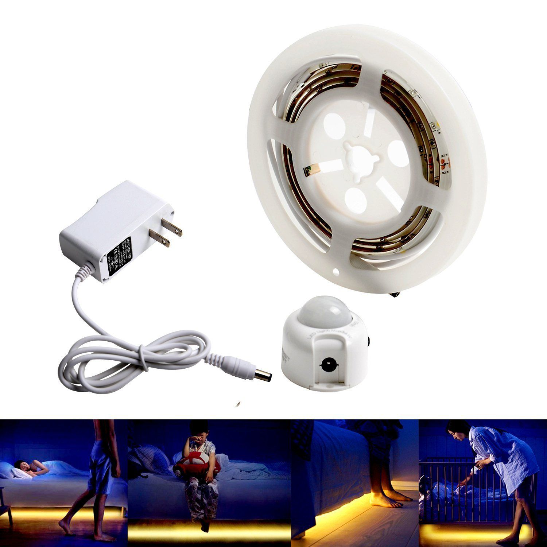 HonestEast Smart Under Bed Light Motion Activated LED