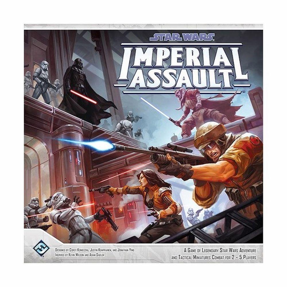 IMPERIAL ASSAULT Star Wars Gioco da Tavolo Inglese Miniature Guerre Stellari