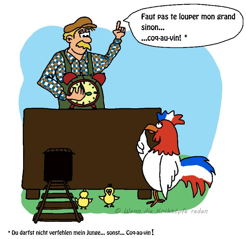 witzige Franzosen