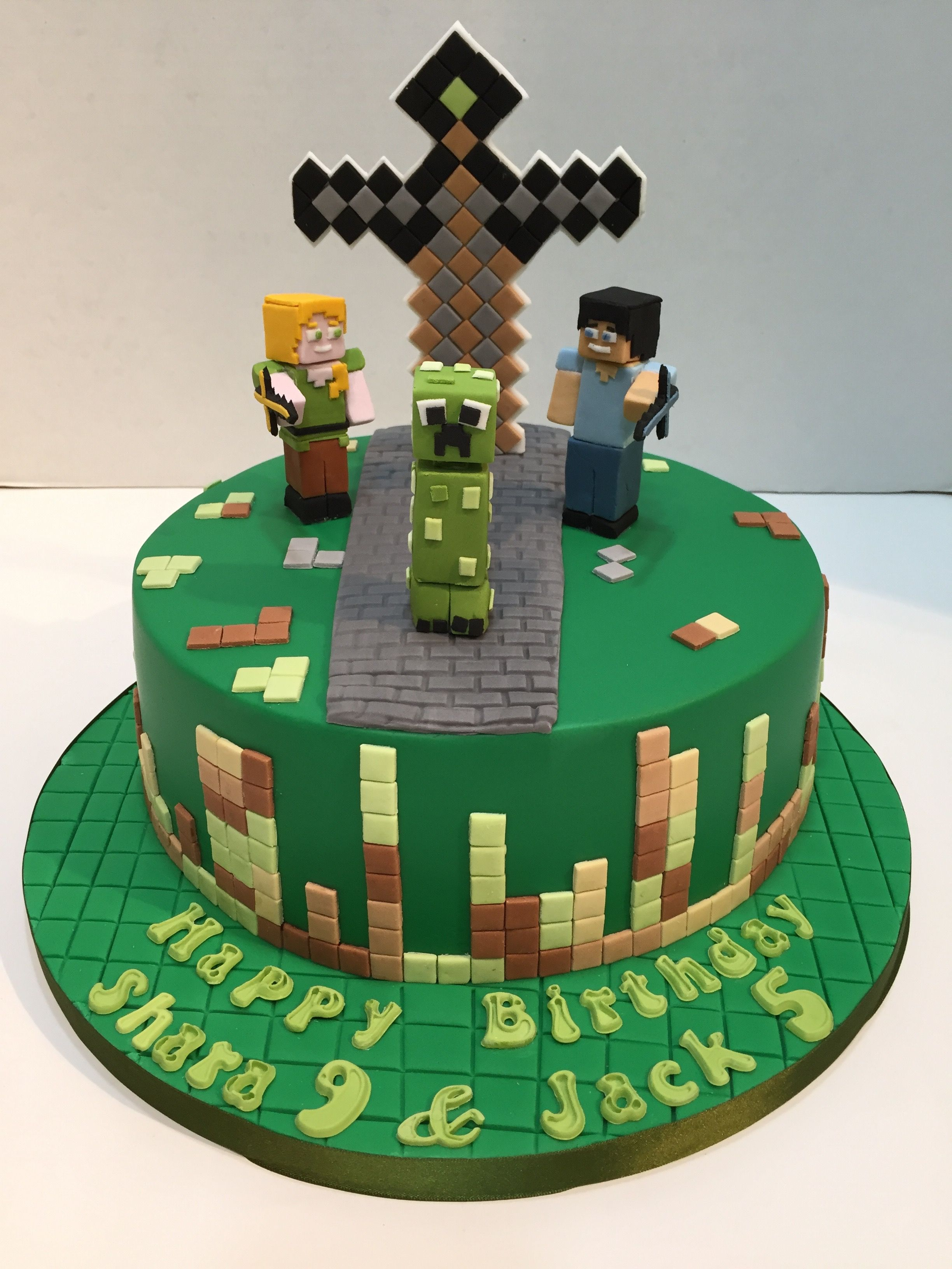 minecraft cake ideas a minecraft cake by love2bake org nov 2015 love2bake 5908