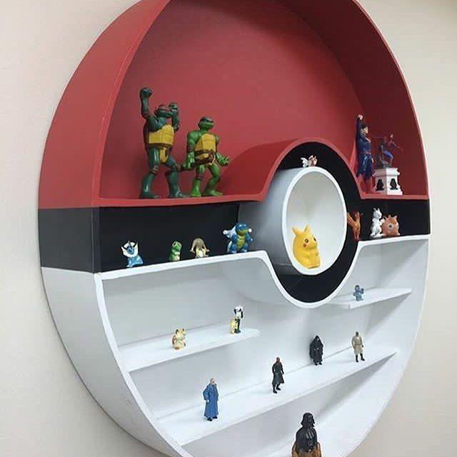 Poke Shelf Geeky Nerdy Stuff Amp Humor Pokemon Room
