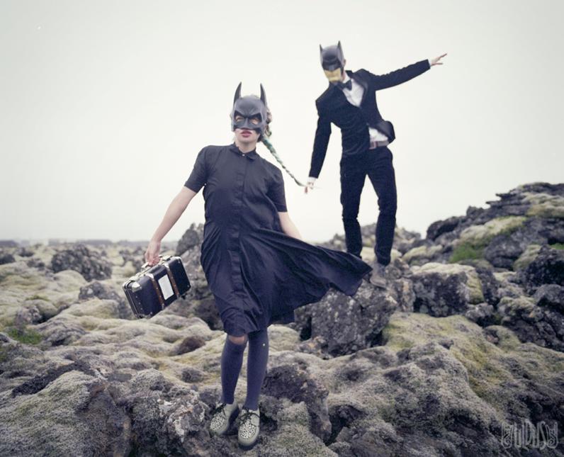 """Batman"". From the seria ""Desperate romantics""<p>Uldus Bakhtiozina, photography, film, digital print.</p>"