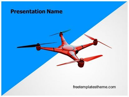 Download Free Drone Powerpoint Template For Your Powerpoint